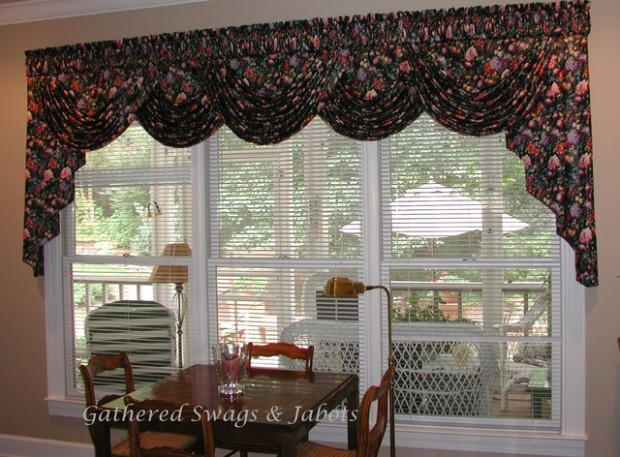 Board mounted valances - Traditional - Living Room - Other - by .. | living room valances