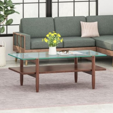 Buy Glass Coffee, Console, Sofa & End Tables Online at Overstock .. | living room table