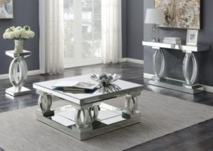 Coaster 14S14   living room 3 piece table set