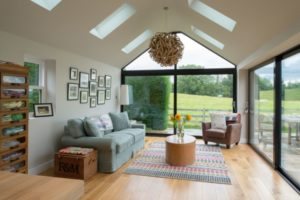 Contemporary Cottage Extension - Contemporary - Living Room ... | living room extension