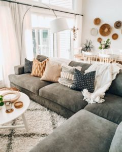 Cozy Cosy Living Room Lounge Room Sofa And Couch Inspo Neutral ... | living room lounge
