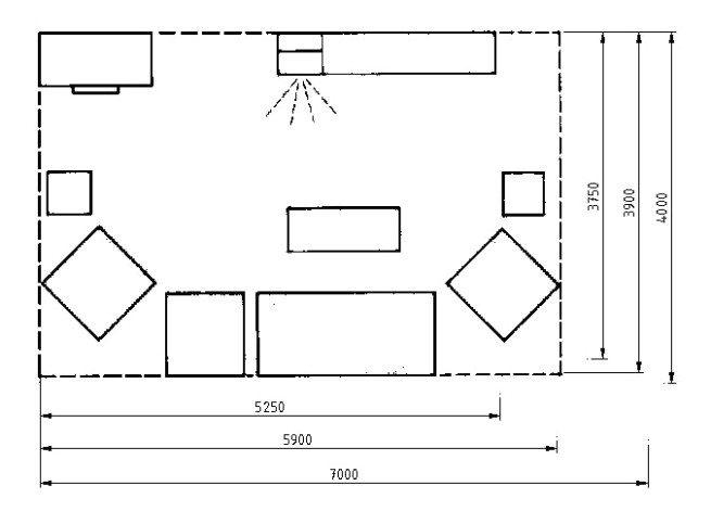 Data on Living Room Layouts | :: art of design :: - living room dimensions | living room dimensions