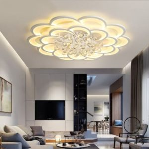 Details about Modern Led Ceiling Lights Fixture For Living Room Crystal  Chandelier Lighting | living room light fixtures