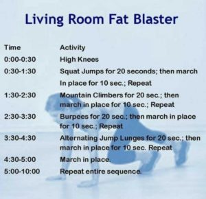 Easy living room workout   Cardio at home, Cardio circuit, Workout ...   living room exercises