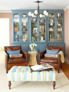 Eco-Friendly Makeover for a Living Room | Living room paint ... | living room hutch