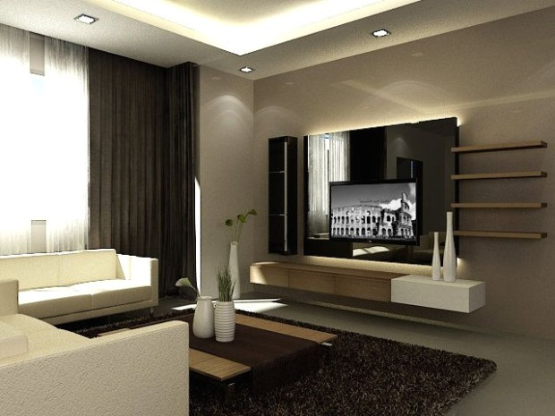 featured wall with tv | feature wall Tv Feature Wall Design Living .. | living room wall design