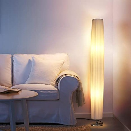 Floor Lamps for Bedrooms Living Room - Albrillo 19 Inch Tall Modern  Standing Light, Floor Lamp for Office Dorm Fabric Shade Decorative - living room lamps | living room lamps