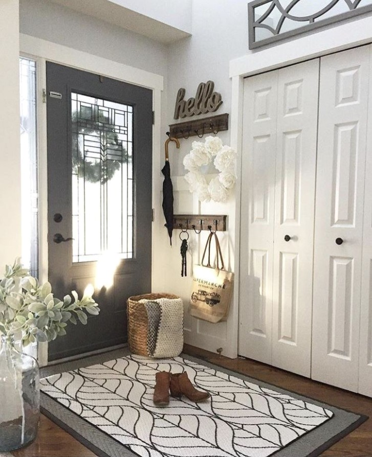 For living room entry | Modern farmhouse living room decor .. | living room entrance