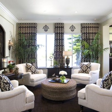 Four Chairs Design, Pictures, Remodel, Decor and Ideas .. | living room 4 chairs