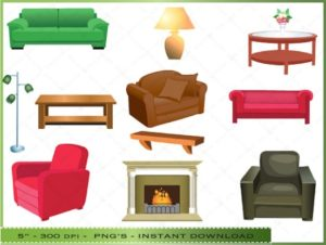 Free Living Room Cliparts, Download Free Clip Art, Free Clip Art ... | living room things