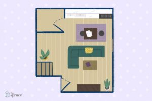 Furniture Arrangement Ideas for a Small Living Room | living room floor plan