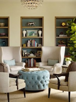 Furniture Arrangements - Four Chairs | Contemporary family rooms .. | living room 4 chairs