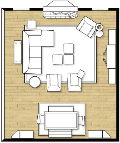 Furniture Arranging Ideas & Tricks | Living room furniture .. | living room floor plan