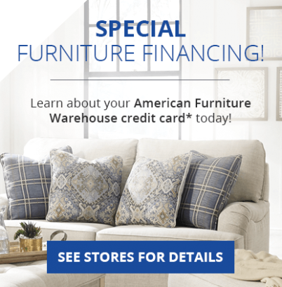 Furniture Financing Made Easy | American Furniture Credit Card .. | living room furniture 0 finance