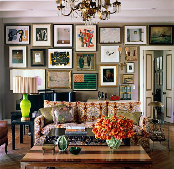 Gallery Wall - Contemporary - Living Room - Other - living room gallery wall | living room gallery wall