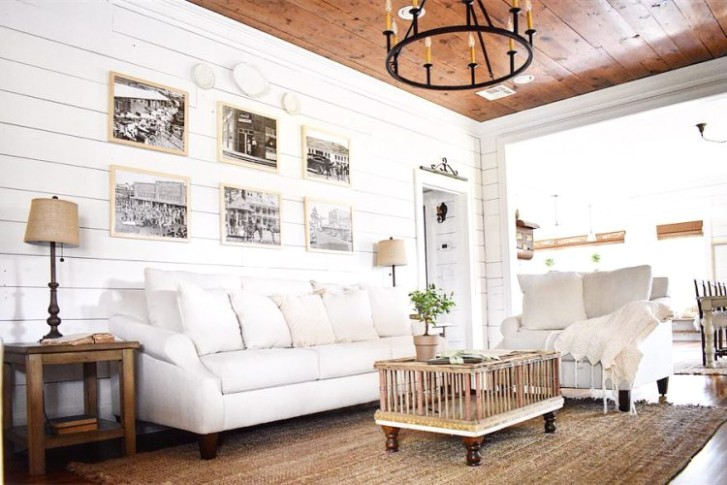 Gallery Wall Inspiration | Nations Photo Lab | living room gallery wall