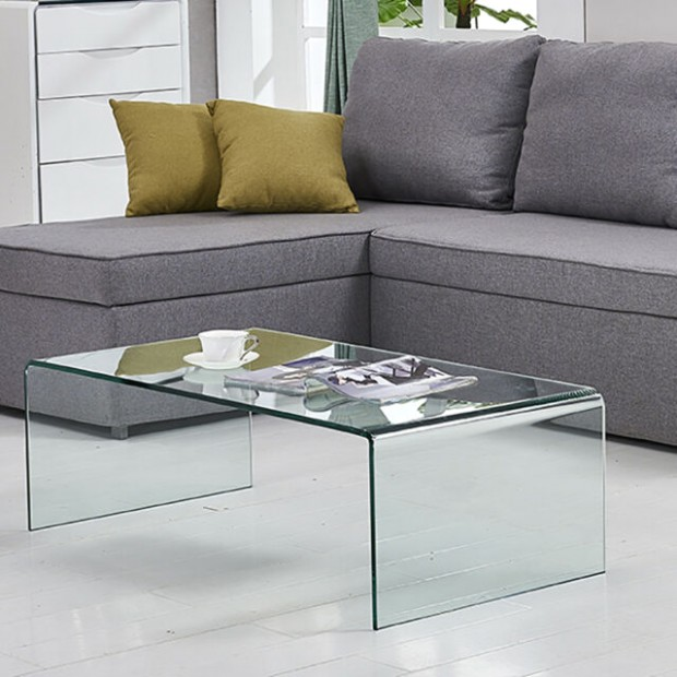 Glass Coffee Table End/Side/Cocktail Table Living Room Table - living room glass table   living room glass table