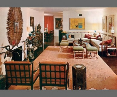 Great Design - 20s | Architectural Digest - living room 1960 | living room 1960