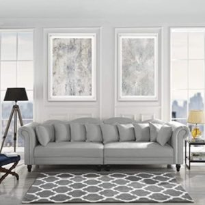 Grey Couch Living Room: Amazon.com | living room grey couch