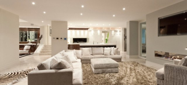 Guide to Recessed Lighting Spacing   DoItYourself   can lights living room