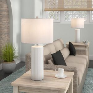 "Heming 17"" Table Lamp Set 