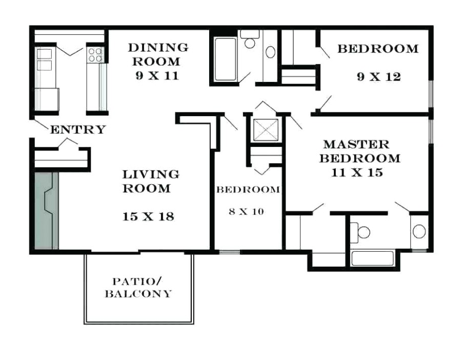 Home remodeling: The average room size in a house in United States - living room size | living room size