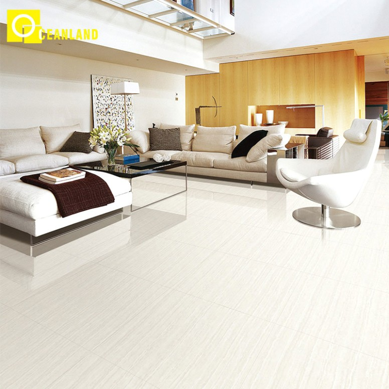 [Hot Item] 17X17 Discount High Gloss White Living Room Porcelain Floor Tile - living room floor tiles | living room floor tiles