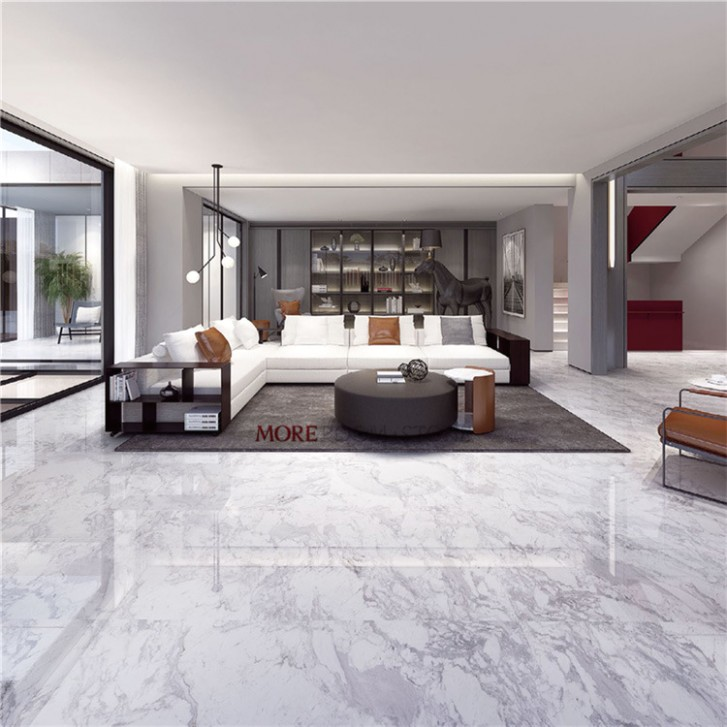 [Hot Item] 17X17 White Volakas Marble Floor Tiles for Living Room - living room floor tiles | living room floor tiles