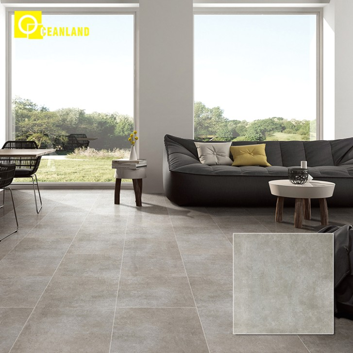 [Hot Item] Living Room Floor 17X17 Tiles Grey Wood Look Ceramic Tiles - living room floor tiles | living room floor tiles