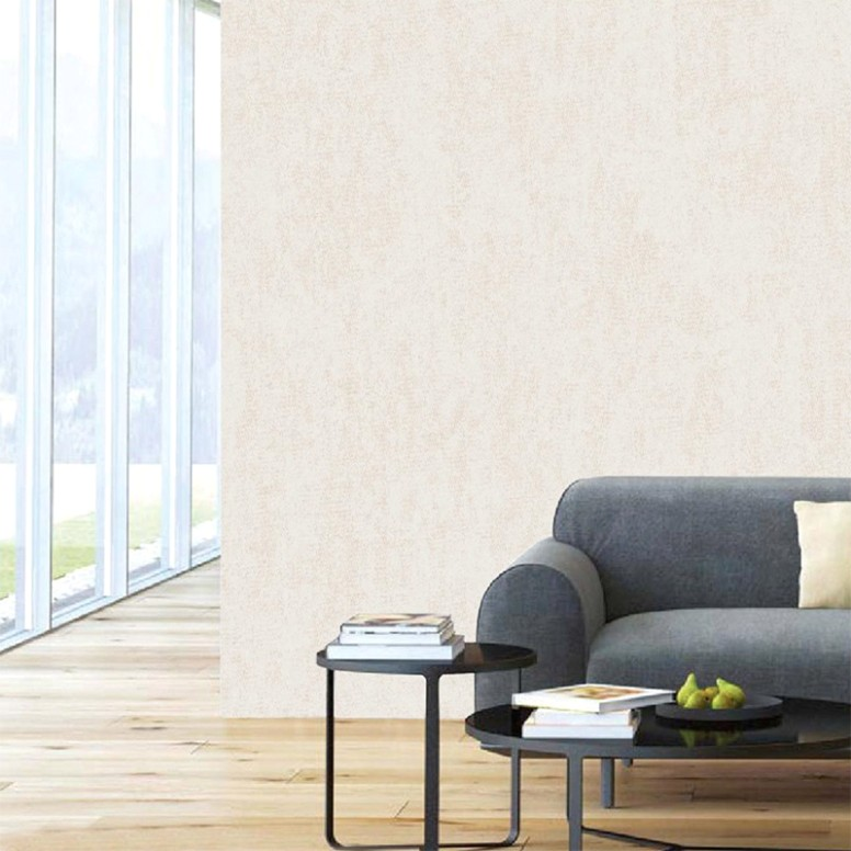 [Hot Item] Modern Minimalist Non-Woven Wallpaper Warm Bedroom Living Room  Plain TV Background Wall Paper - living room wallpaper | living room wallpaper