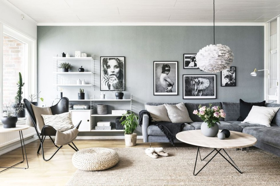 House Tour: Mixing Scandinavian Style and Pastels in a Kiev .. | living room scandinavian