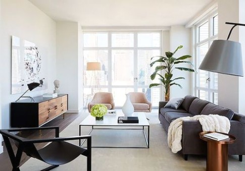 How to Arrange Your Living Room Layout, No Matter the Size - living room furniture layout | living room furniture layout