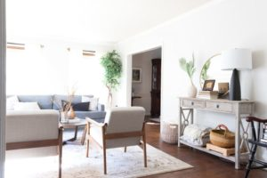 How To Layout Furniture in Your Narrow Living Room (Or Around a ... | living room layout