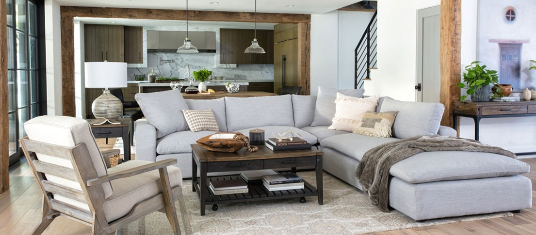 How to Pick the Best Material for an Area Rug | Living Spaces | living room area rugs
