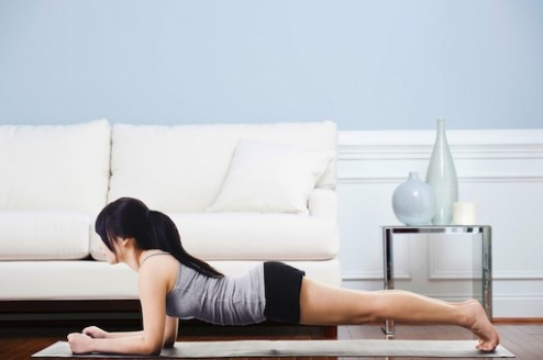 Hurricane Sandy Workout: 19 Exercises You Can Do in Your Living Room - living room exercises | living room exercises