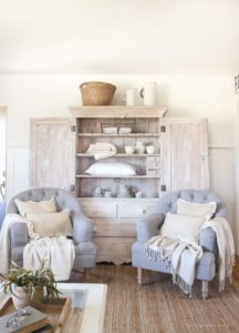 Hutch in the Living Room - Love Grows Wild | living room hutch