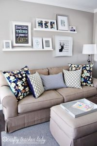 IDEAS for Small Living Spaces | Home decor, Room decor, Small ... | living room wall decor ideas