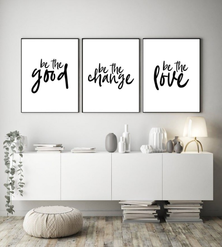 Inspirational Prints, Office Printables, Gallery Wall Decor ..   living room quotes