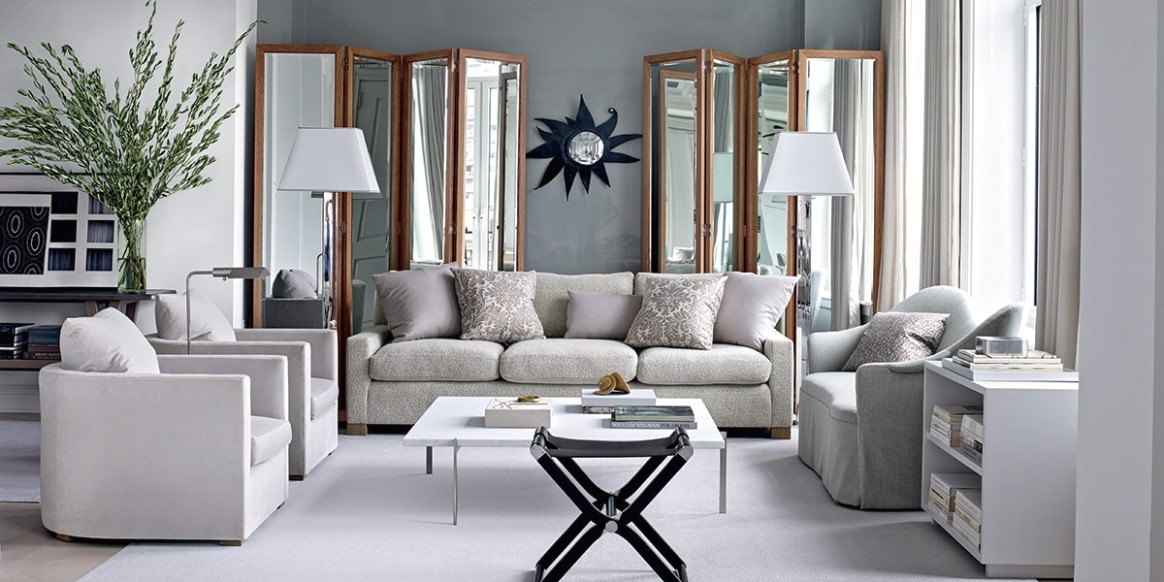 Inspiring Gray Living Room Ideas | Architectural Digest - living room grey | living room grey
