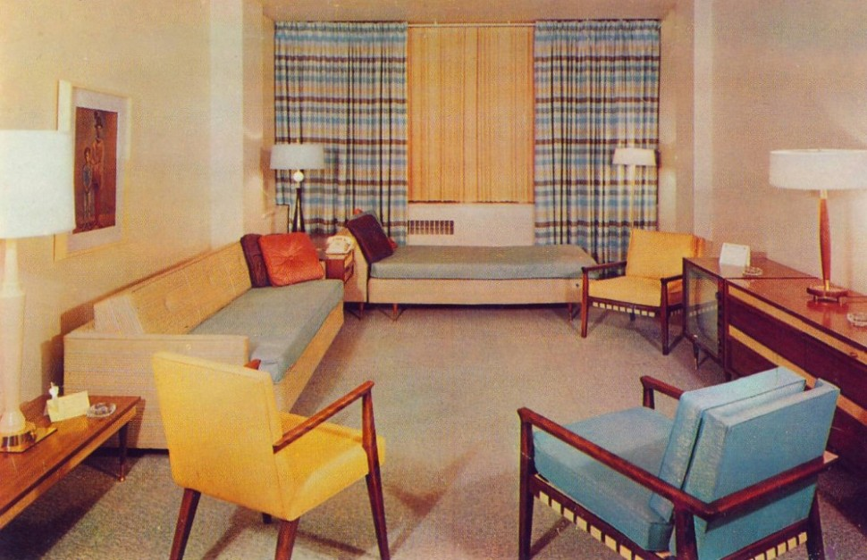 Interior: Home Decor of the 20s | Ultra Swank - living room 1960 | living room 1960