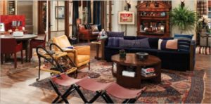 interiors - November/December 9 - Will & Grace | will and grace living room painting
