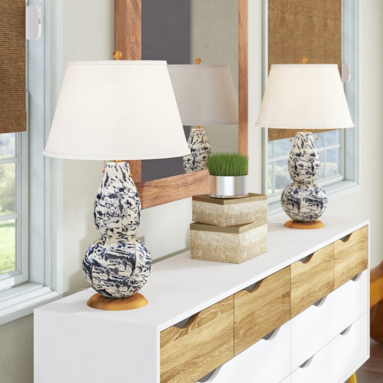 "Kennebec 17"" Table Lamp Set - living room lamp sets 