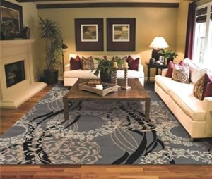 Large Area Rugs for Living Room 17x17 Gray | for living room