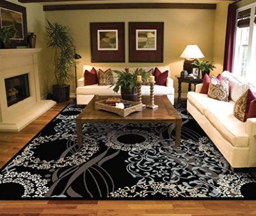 Large Rugs for Living Room 14x14 Black Area Rugs 14x14 Under 140 - living room area rugs | living room area rugs