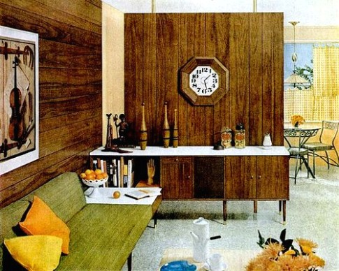LIving Room (20) | 20s living room, Mod living room, Mid .. | living room 1960