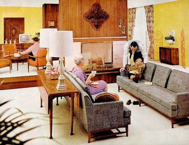 Living Room (20) | 20s living room, Retro living rooms, Mid .. | living room 1960