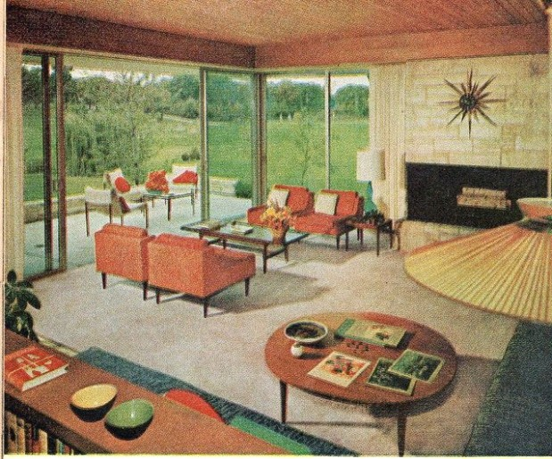 Living Room 20 in 20 | Retro home decor, 20s home decor .. | living room 1960