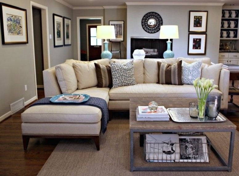 Living Room Decorating Ideas on a Budget - Living Room. Love this .. | for living room decoration
