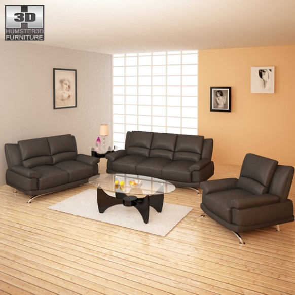 Living Room Furniture 16 Set 16D model - living room 3d | living room 3d