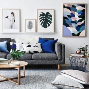 Living room inspiration: how to style a grey sofa | Living room ... | living room grey couch
